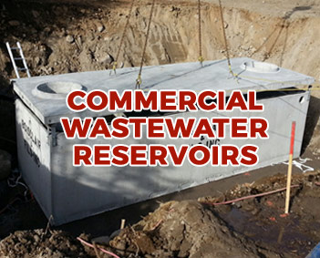 Commercial Wastewater Reservoirs